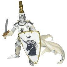 Weapon Master Unicorn - Papo Knight 39915 Figurine Crest Shield Figure -  papo unicorn knight 39915 figurine crest shield figure