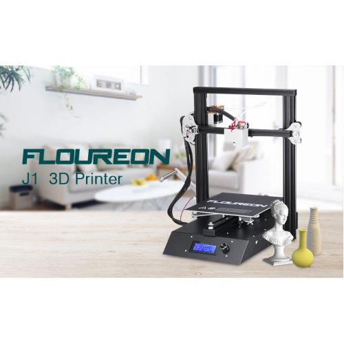 3D Printer DIY Precision Pre-assembled FDM Metal LCD Large Size