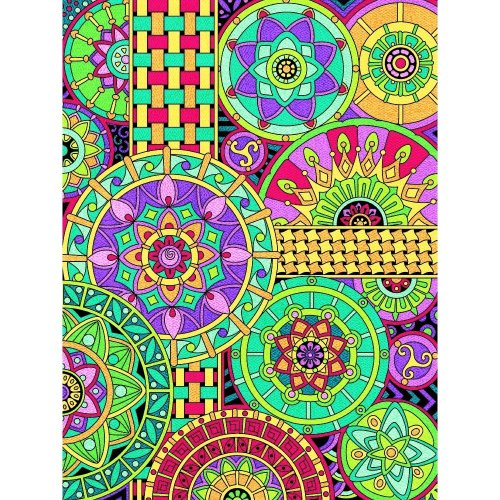 Dpw91539 - Paintsworks Pencil by Numbers - Mandala Montage