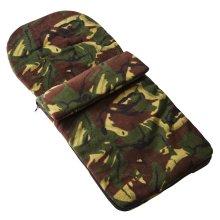 Fleece Footmuff Compatible With Obaby Zezu Pramette Travel System - Camouflage