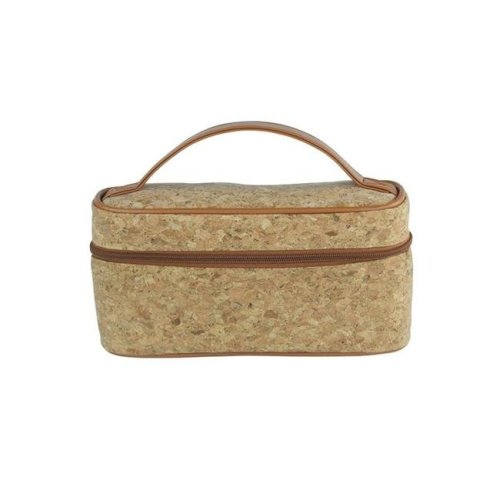 Picnic Gift 7520-CR Lemondrop-Chic & Classy Insulated Cosmetics Bag For The Minimalist Cosmoqueens, Cork