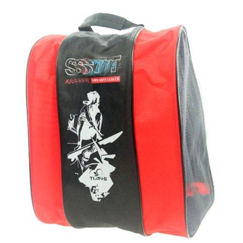 Ice Skate Backpack Skate Carry Bag Skate Blade Shoe Bag-15
