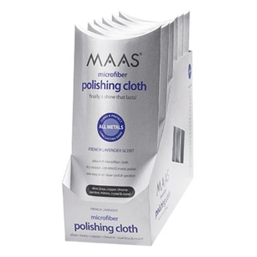 MAAS 91455 12 x 12 in. Polishing Cloth With Lavender Scent