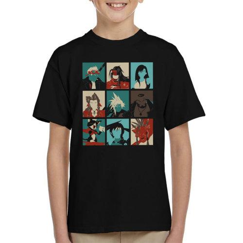 Final Fantasy 7 Pop Art Kid's T-Shirt