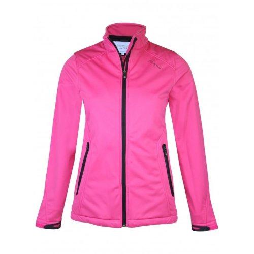 ProQuip Isla Full Zip Soft Shell Wind 360 Jacket Pink Small