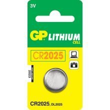 GP Batteries Lithium Cell CR2025 Lithium 3V non-rechargeable battery