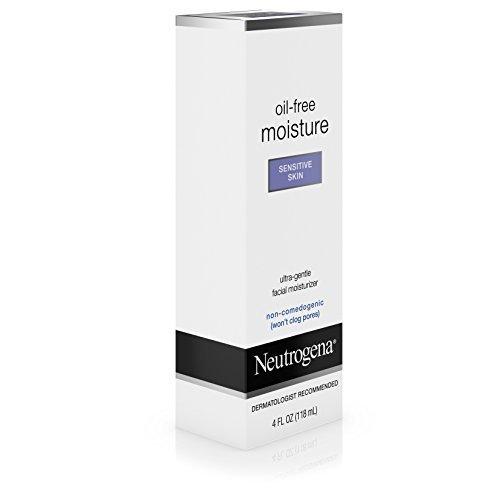 Neutrogena Oil Free Moisture Sensitive Skin 4 fl oz