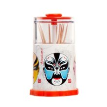 Traditional Fashion Portable Hand Pressure Automatic Toothpick Holder