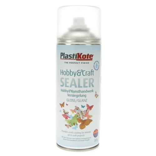 Plastikote 4141 400 ml Hobby Twist Gloss Craft Sealer - Clear