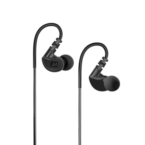 MEE Audio M6G2 In-Ear Sports Headphone¦Noise-Isolating¦(2018)¦Black¦