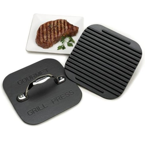 Chefs Design 2122 12 in. Gourmet Grill Press