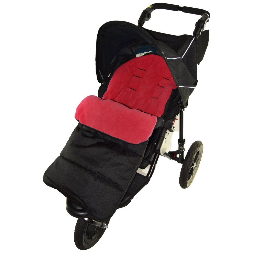 Footmuff//Cosy Toes Compatible with Phil /& Teds Smart Buggy Pushchair Pink Rose