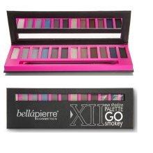Bellapierre Go Smokey XII Eyeshadow Palette 100% Pure Minerals