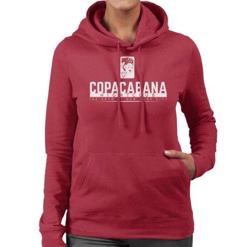 Copacabana Nightclub Goodfellas Women's Hooded Sweatshirt