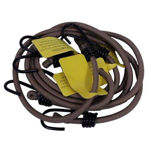 Camcon CACN 71080 Heavy Duty Bungee Cords, 30 in. , 4 pack, Tan
