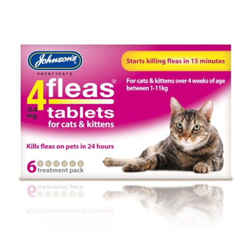 4fleas Cats And Kittens 6 Treatment Pack (Pack of 6)