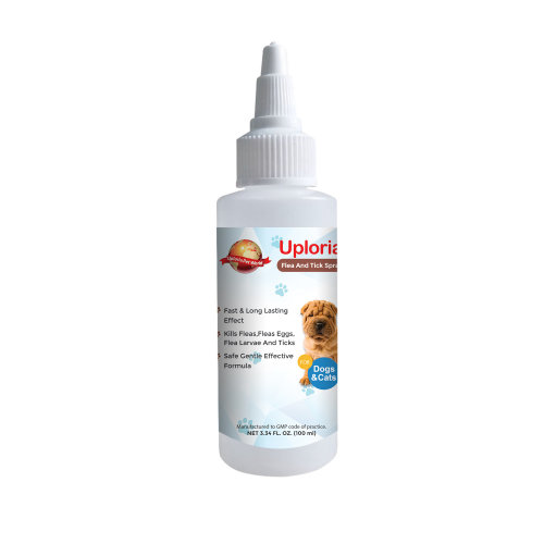 Pet Flea Tick And Mite Spray For Dogs And Cats
