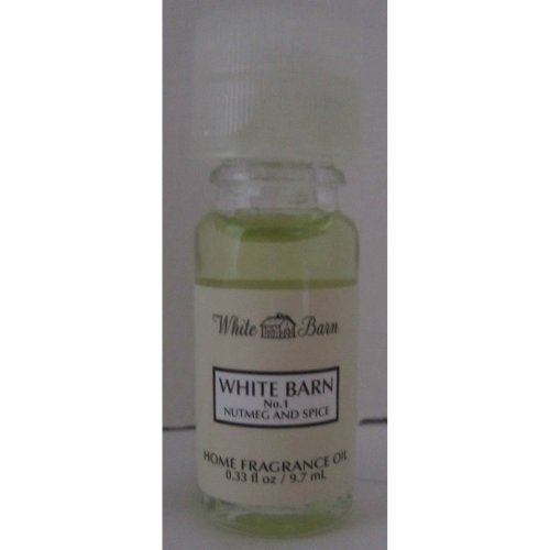 Bath & Body Works White Barn No.1 Nutmeg & Spice Home Fragrance Oil 0.33 oz