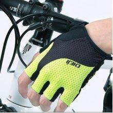 Men Outdoor Sports Bike Gloves Half Fingers Shockproof Breathable Gloves