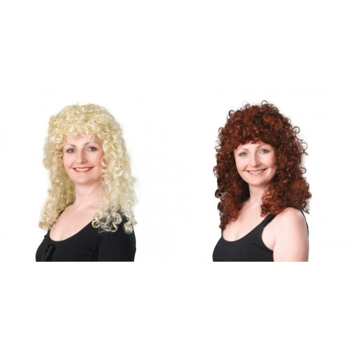 Bristol Novelty Womens/Ladies Long Curly Wig