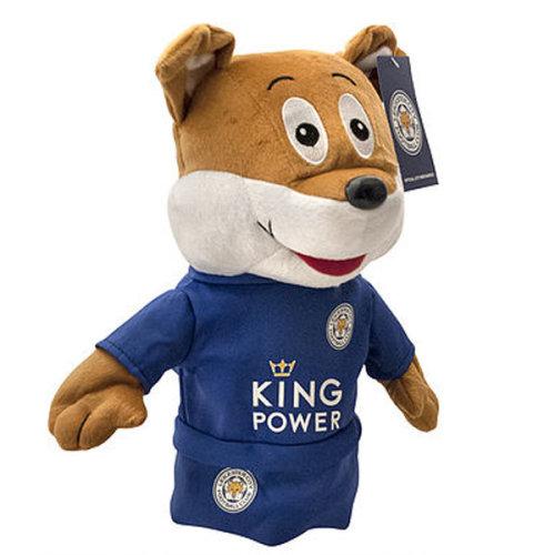 Leicester City Filbert The Fox Mascot Golf Driver Head Cover - Blue - Head -  mascot leicester city golf headcover driver filbert fox football club