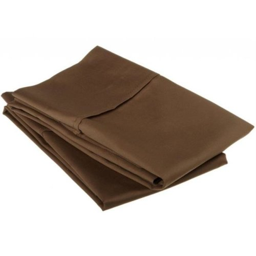 530 Thread Count Egyptian Cotton Standard Pillowcase Set Solid  Taupe