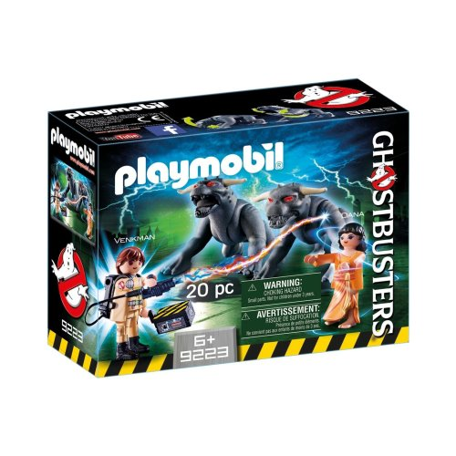 Playmobil 9223 Ghostbusters Venkman and Terror Dogs