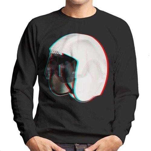 Original Stormtrooper Rebel Pilot Stunt Helmet 3D Effect Men's Sweatshirt