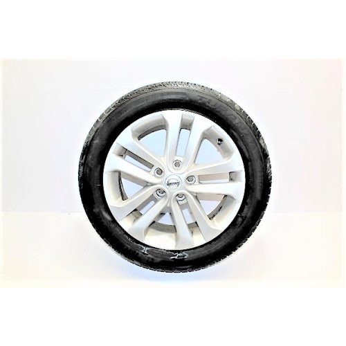 2012 NISSAN JUKE ALLOY WHEEL WITH TYRE 215 / 55 / R17 3.5MM