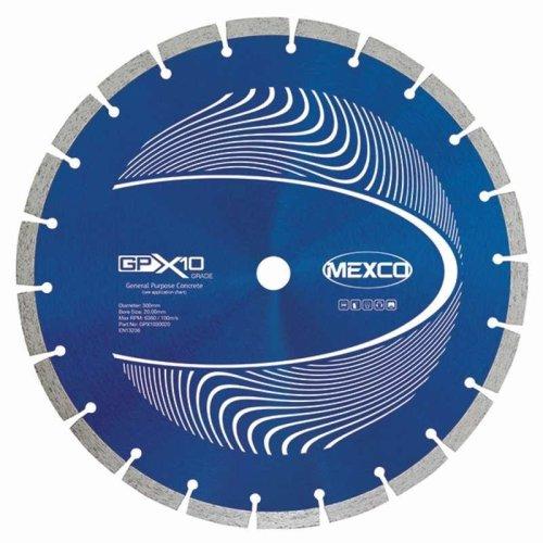 Mexco 115Mm Concrete X10 Grade Diamond Blade