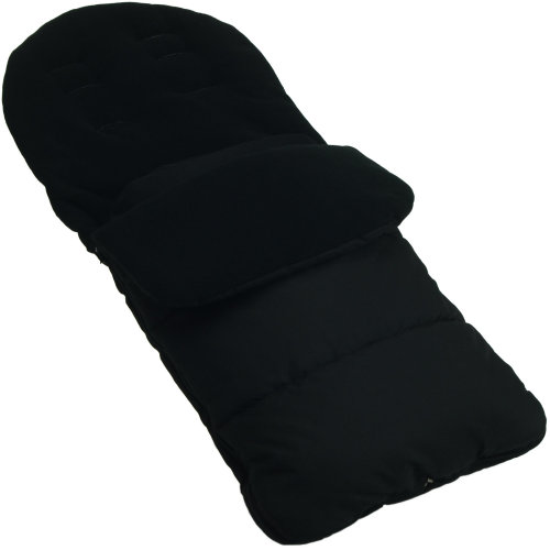 Footmuff / Cosy Toes Compatible with Venicci Travel Pushchair Black Jack