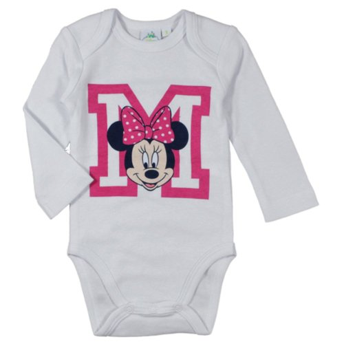 "Minnie Mouse Bodysuit - White ""M"""