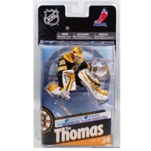 McFarlane Toys NHL Sports Picks Series 24 Action Figure Tim Thomas (Boston Bruins) Black Jersey