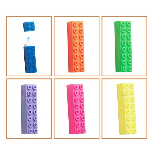 Large Building Bricks Highlighters