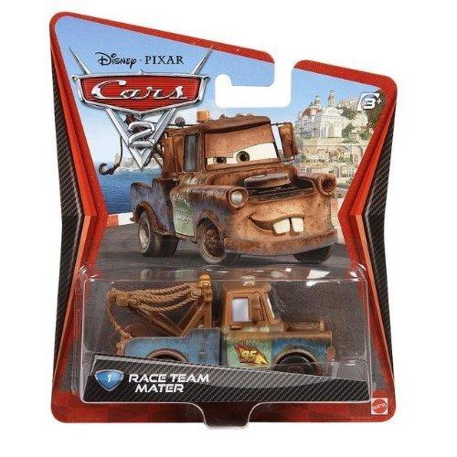 Disney Pixar Cars 2 Race Team Die Cast Vehicle Mater Brand New Sealed