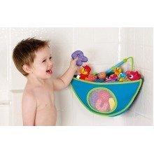 Munchkin Corner Bath Organiser | Baby Bath Toy Storage