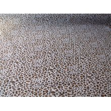 "Leopard Print Poly Cotton Fabric by the metre 44"" / 112cm wide"