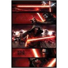 Star Wars Episode 7 Kylo Ren Panels Maxi Poster