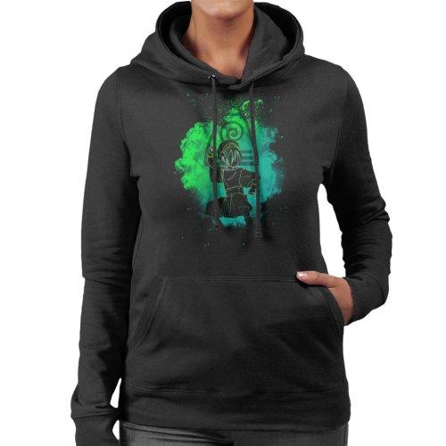 Earthbender Soul Avatar Women's Hooded Sweatshirt