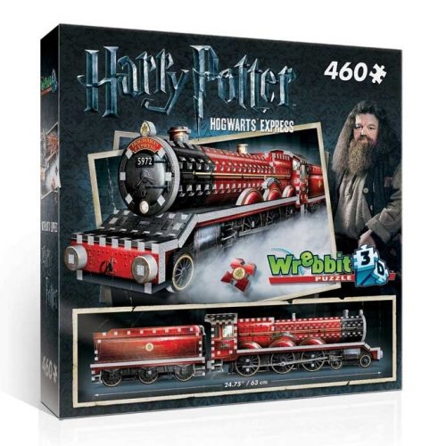 Wrebbit Harry Potter Hogwarts Express 3d Jigsaw Puzzle (460 Pieces)