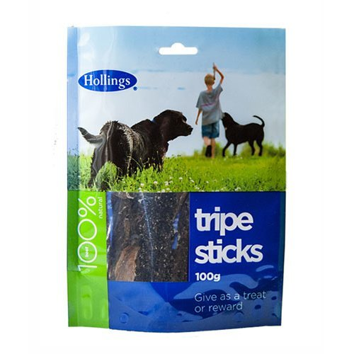 Hollings  Tripe Sticks For Dogs 100g x 10