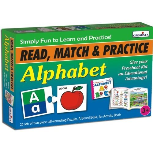 Read, Match And Practice Alphabet Pre-school Game - Cre1043 Creative Preschool -  cre1043 creative preschool read match alphabet