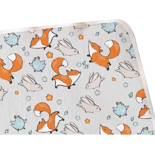 Cotton Washable Baby Diaper Changing Pad Diaper Pad 1 piece, 50x70cm, NO.004