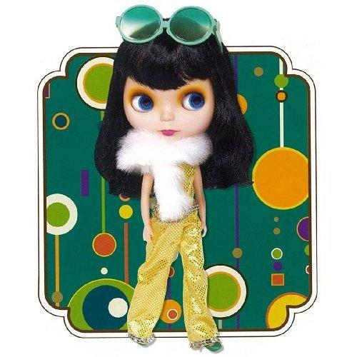 Blythe Mini PBL-15 All Gold in One Takara Doll