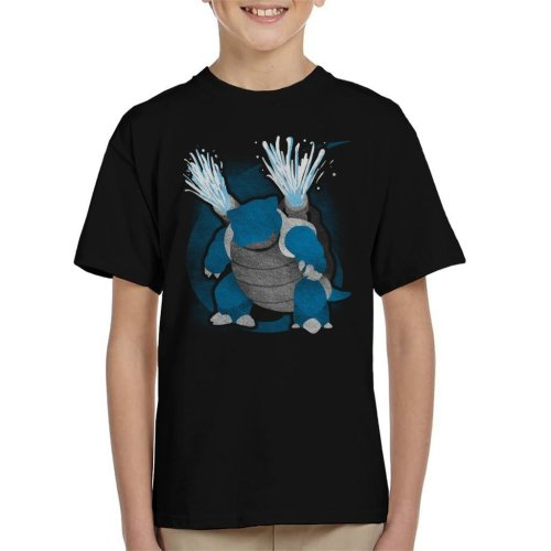 Pokemon Water Blastoise Kid's T-Shirt