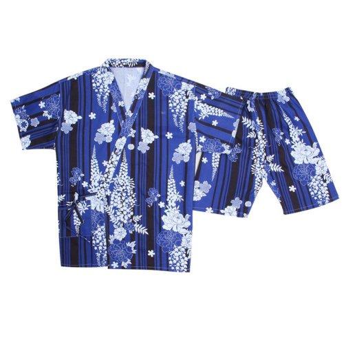 Kimono Style Pajamas Short Pajamas Suit Loose Home Wear Khan Steam Pajamas