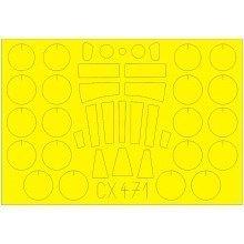 Edmcx471 - Eduard Masks 1:72 - Victor B Mk.2 (airfix)