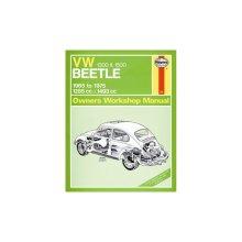 VW Beetle 1300 & 1500 (65 - 75) up to P Reg - Car Manual