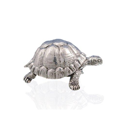 925 Sterling Silver Tortoise Figure.