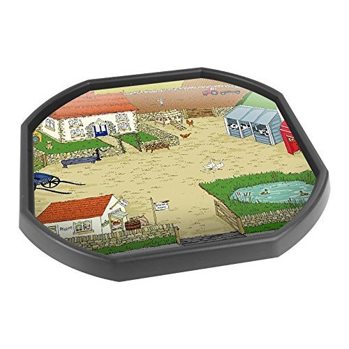 Tuff Spot Play Tray Mat Insert - Sarah's Farm - Printed On Tough Vinyl -  Ideal For Schools, Nurseries and Home